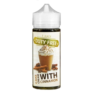 Duty Free Juice White - Cinnamon Cake With Cream