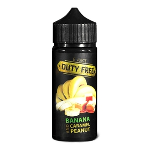 Duty Free Juice Black - Banana And Peanut Caramel