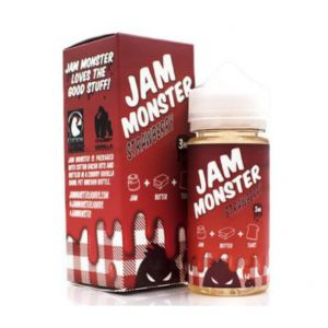 Жидкость Jam Monster Strawberry 100 мл (клон)
