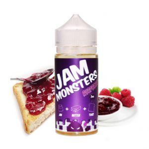 Жидкость Jam Monster Raspberry 100 мл (клон)