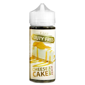 Duty Free Juice White - Peach Cheesecake