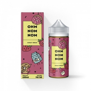 Жидкость OHM NOM NOM Salt (30ml) - DONUT BREAK