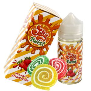 Jelly Twist — Orange Strawberry