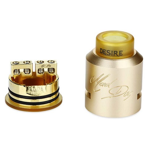 Дрип-атомайзер Mad dog Desire Rabies RDA V2 (Клон)