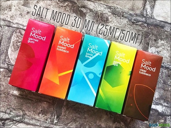 Жидкость Salt Mood (30 ml) Apple lipa (25)