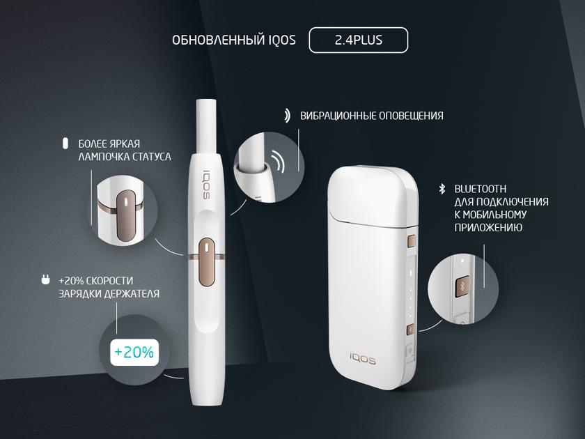 iqos structure 2.4 plus new