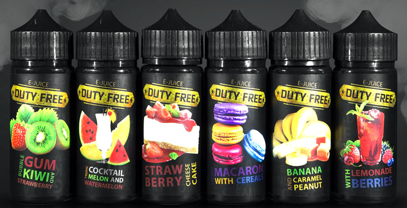 Duty free juice black