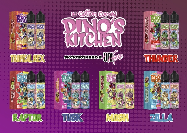 Cotton Candy - Dino`s Kitchen